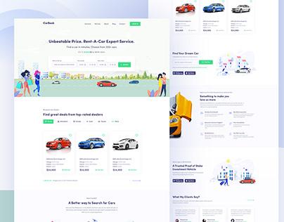 Car Rent || Landing Page
