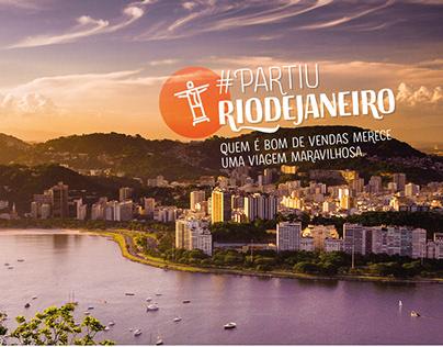 #PartiuRioDeJaneiro