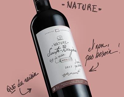 Saute Bergère - Nature (without sulfur)
