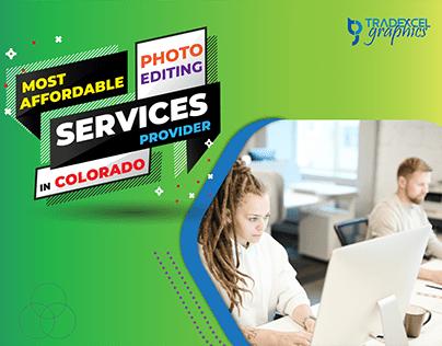 Photo Editing Services Provider in Colorado