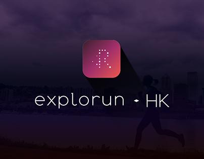 UI/UX Design - explorun.HK