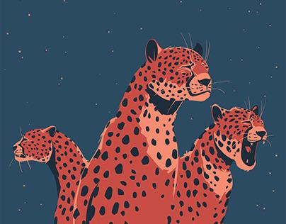 All my cheetahs