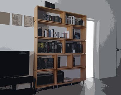 Bibliothèque, Chêne