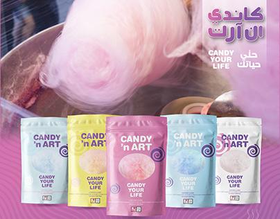 Candy 'N Art Identity