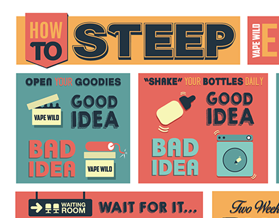 Steeping Infographic