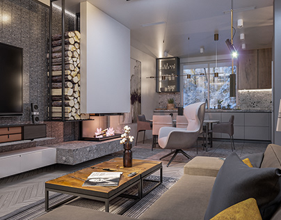 Living room - Dining room. (2020)