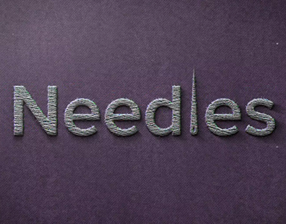 Sewing Infographics: Needles