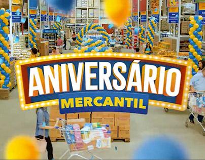 ANIVERSÁRIO MERCANTIL ATACADO 2019