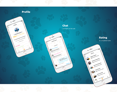 mobile application to help animals