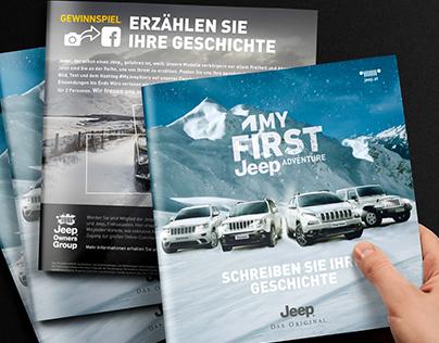 BrochureMy FIRST JEEP adventure