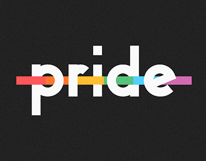 Type with pride posters