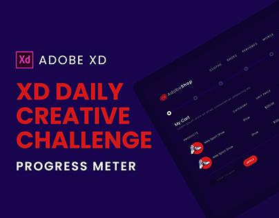 Creative Challenge   XD   Progress Meter