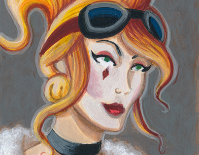 "DC Comics: ""Bombshells"" Sketch Cards"