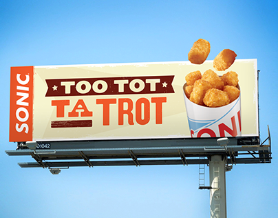 Sonic Drive-In Outdoor Campaign
