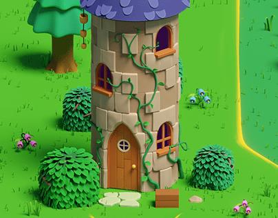 Stardew Valley - Wizard's Tower