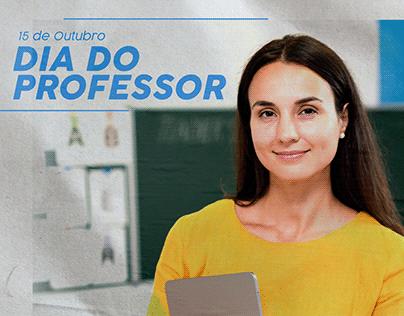 Arte Post Dia do Professor para ACIC