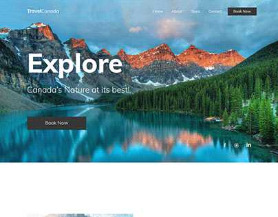 Web Design for a Travel Agency, UI/UX