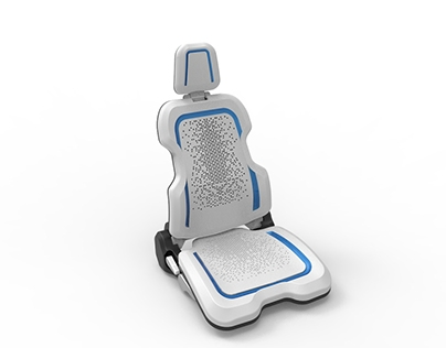 E-seater : New concept of automotive seat
