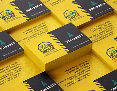 Business card and logo design for Car Towing Service