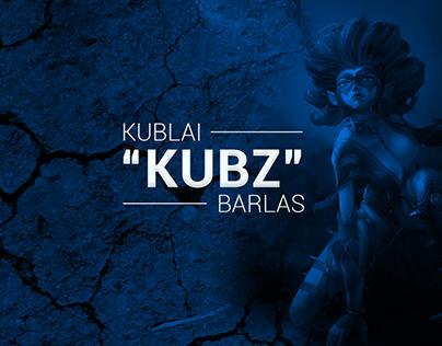 """Kublai """"Kubz"""" Barlas - Esports Branding"""