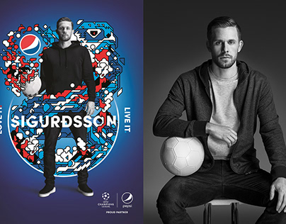 Pepsi Global Football Campaign Gylfi Sigurðsson