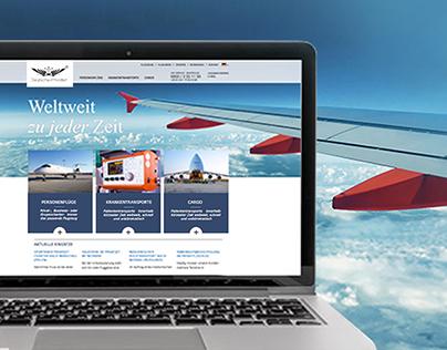 Deutsche Privatjet | Web & Print Design