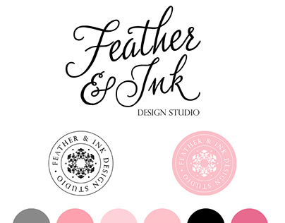 Brand Board - Feather & Ink
