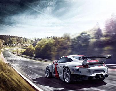 Porsche 911 RSR Nordschleife