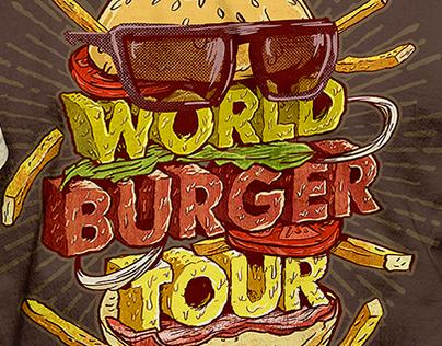 T-shirt illustration for Hard Rock Cafe