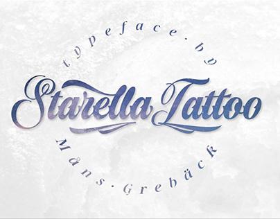 Starella Tattoo Deco Font Free Dowload
