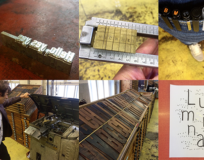 Swiss Experimental Typographic Letterpress Workshop