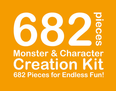 Monster & Character Design Kit
