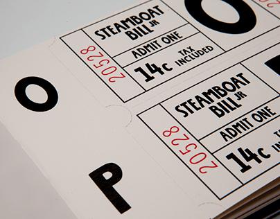 Steamboat Bill Jr. | Typography
