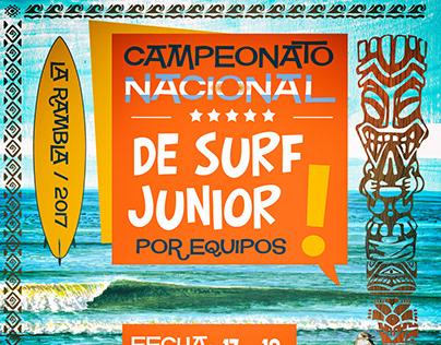 Campeonato nacional de surf junior - Pinamar ASA / ASBP