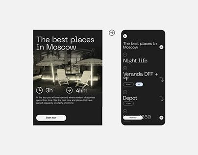 Journey – The app/modular tour