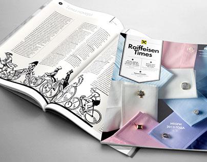 Raiffeisen times magazine