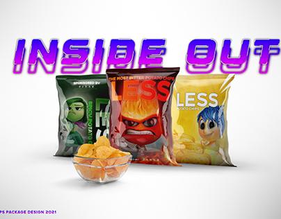 INSIDE OUT Filmi Cips Paketi Tasarımı