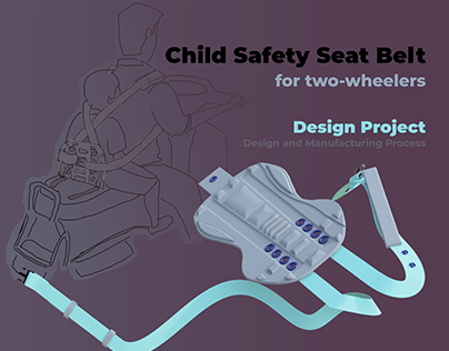 Child Safety Seat Belt - for two-wheelers