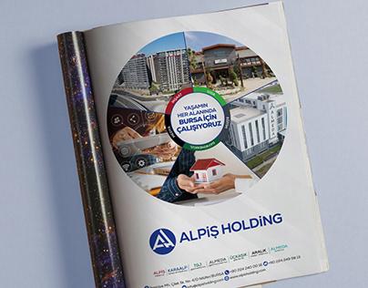 Alpiş Holding dergi ilanı