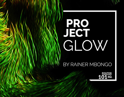 Glow: using cinema to create posters with a glowy feel.