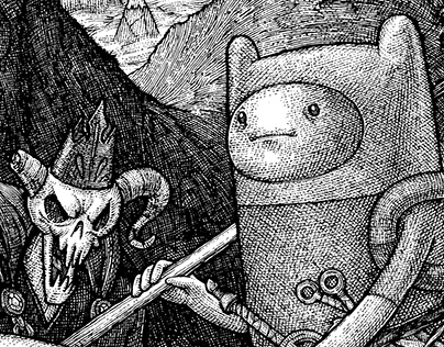 Available from The Beguiling: Adventure Time Art