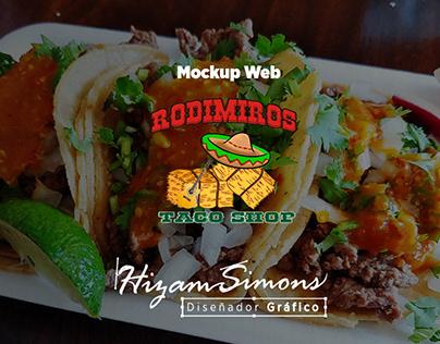Mockup Web - Rodimiros Taco Shop