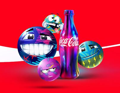 """Coca Cola """"Feelings Emoticons"""""""