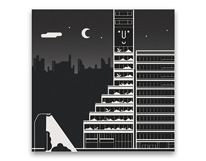 Monocle Magazine, 111 | Timber tower illustrations