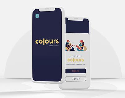 Colours App - UI/UX
