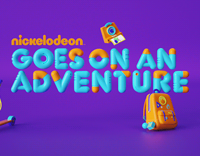 Nickelodeon / Goes on an Adventure / Graphic Pack