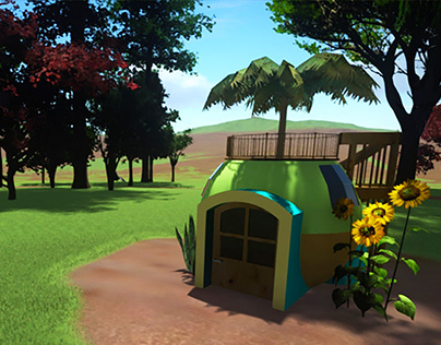 Hideaway Hut | 3-D Competition Submission