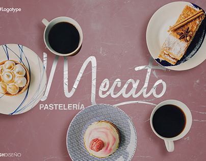 Logotipo Mecato Pasteleria
