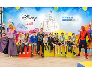 Разработка дизайна шоу-рума для продукции обуви Disney
