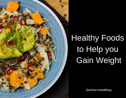 healthy foods to help you gain weight